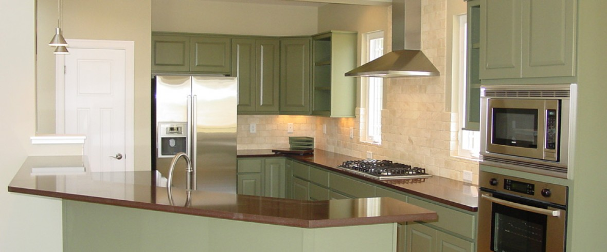 Custom Kitchens – New Construction and Remodeling